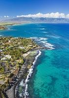 アメリカ合衆国 ハワイ マウイ島 空撮