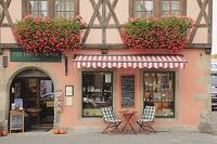 ドイツ ロマンティック街道 ディンケルスビュール 街角