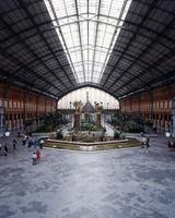 スペイン マドリード アトーチャ駅