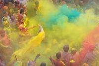 インド ウッタル・プラデーシュ州 ホーリー祭