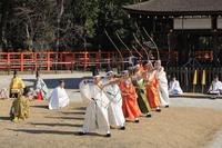 京都府 上賀茂神社 武射神事の百手式