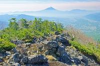 山梨県 三ノ頭から富士山遠望