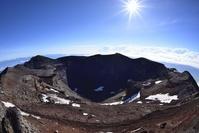 静岡県・山梨県 富士山山頂火口