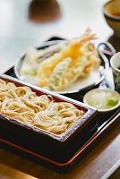 蕎麦と天ぷら