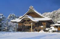 島根県 雪の出雲大社