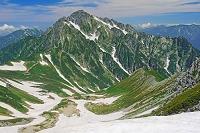 富山県 別山から剣岳