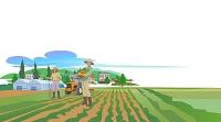 夫婦と農業