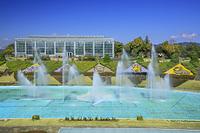 静岡県 はままつフラワーパークの噴水