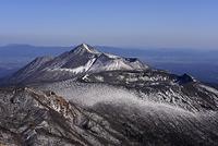 高千穂峰と新燃岳