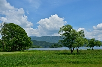 福島県 磐梯朝日国立公園 裏磐梯 檜原湖