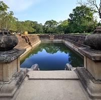 スリランカ セイロン アヌラーダプラ 双子池