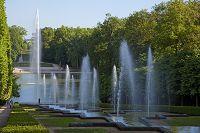 フランス オー=ド=セーヌ県 ソー公園の噴泉と庭園