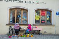 ポーランド ルブリンの町並み