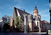 ドイツ ライプツィヒ 聖ニコライ教会