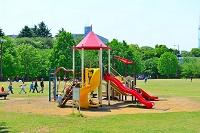 埼玉県 和光樹林公園 公園の遊具