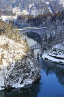 福島県 大沼郡 三島町 第一只見川橋梁