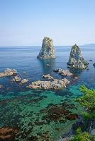 山口県 青海島 十六羅漢