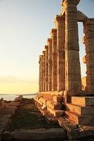 ギリシャ スニオン岬 ポセイドン神殿