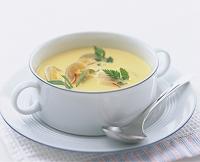 アサリのクリームスープ