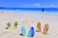 沖縄県 沖縄のビーチのイメージ