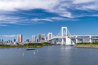 東京都 レインボーブリッジとホタルナ