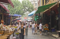 中国 西安 回民街