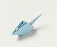 折り紙のネズミ