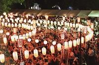 東京都  築地本願寺  盆踊り