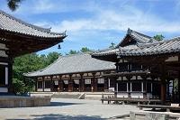 奈良県 唐招提寺 礼堂と講堂