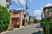 東京都 練馬区 建売住宅街