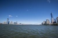 アメリカ合衆国 ニューヨーク ハドソン川上流 マンハッタンと...