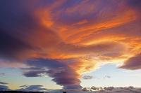 三重県 夕焼け雲