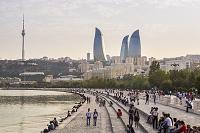 アゼルバイジャン フレイムタワー