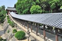岡山県 南隋神門から続く迴廊
