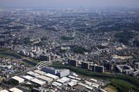 神奈川県 横浜市 横浜線鴨居駅周辺より横浜港方面
