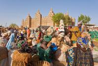 マリ共和国 ジェンネ 泥のモスクと市場