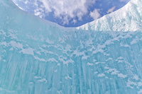 北海道 支笏湖氷濤まつり