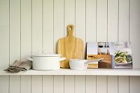 調理器具と料理本