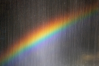 愛媛県 西予市・桂川渓谷の滝と虹