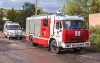 ロシア サマーラ 消防車