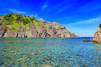 静岡県 ヒリゾ浜と大根島