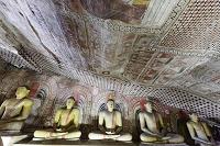 スリランカ ダンブッラ石窟寺院 第2窟