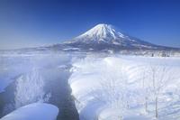 北海道 羊蹄山とペーペナイ川