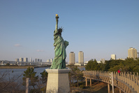 東京都 お台場 自由の女神像