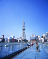 愛知県 オアシス21屋上より名古屋テレビ塔