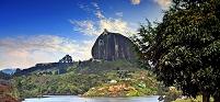 コロンビア 巨岩