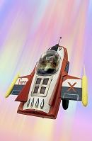 おもちゃの宇宙船
