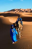 モロッコ エルグ・シェビ砂丘