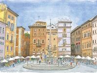 ロトンダ広場 Piazza della Rotonda