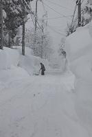 新潟県 冬の豪雪地帯 除雪